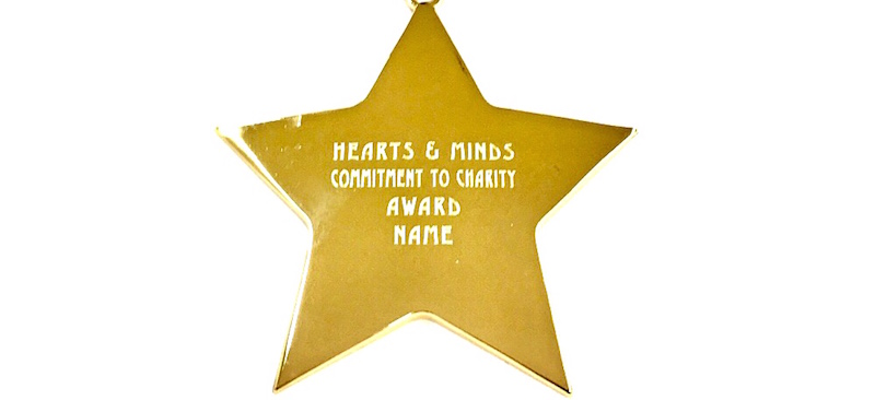 Commitment to Charity medal. 800 x 600