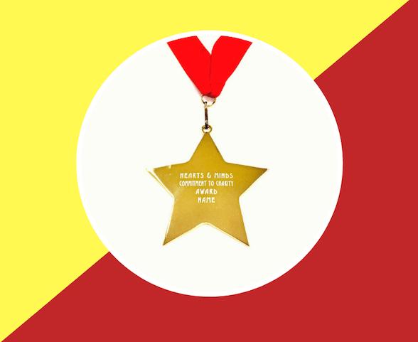 Schools Fundraising Medal